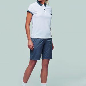 Bermuda femme en polyester